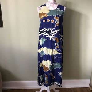 Hilo Hattie Vintage Abstract Dress